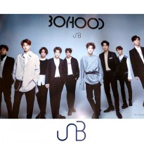 (Free Shipping c059 (Poster only) U amp; B UNB Boyhood Sensation Bromide + Zip Through (Korea KPOP Idol Goodies)