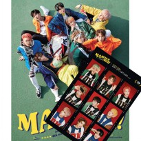(Free Shipping c059 (2 posters) SFA Nine (SF9) MAMMA MIA Mamma Mia (+ Zip Through) (Korea KPOP Idol Goodies)