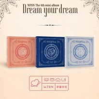 (Free Shipping c059) Space Girl (WJSN) Mini Album 4 Dream your dream (Korean fashion music, KPOP, K-POP DVD CD)