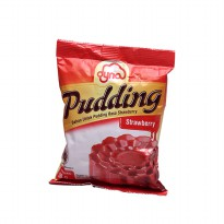 Dyna Pudding Strawberry 1 bungkus (110gr)