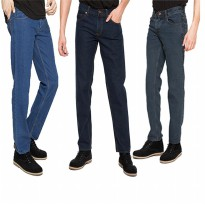 2Nd RED JEANS MURAH/Celana Jeans Pria Basic-1/Celana Denim Regular/Celana Panjang Jeans Basic-1