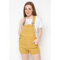 Mobile Power Ladies Overall Short - Yellow Gold B9827