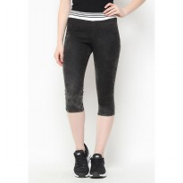 Mobile Power Ladies Slim Fit Jeans Motif - Black C0502
