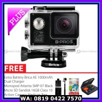SALE BRICA B-PRO 5 Alpha Edition Warna Hitam Combo Extreme HD 1080p Wifi