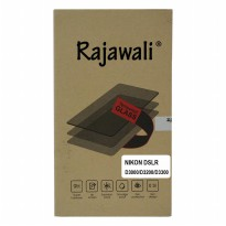 Rajawali Tempered Glass / Screen Protector For Nikon D3000/3100/3200/3300