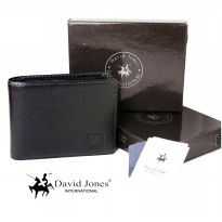 dompet tidur DAVID JONES 211 BLACK - dompet kulit pria DAVID JONES - dompet murah DAVID JONES