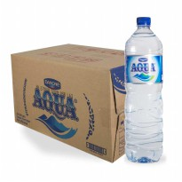 AQUA BOTOL  1500 ml x 12 pcs