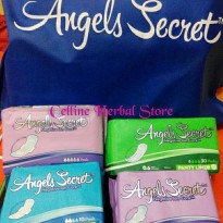 Pembalut Angels Secret Anion Mix 1 Set 20 Pak By Custom Promo A04
