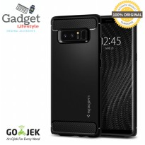 Case Samsung Galaxy Note 8 - Original Spigen SGP Rugged Armor - Black