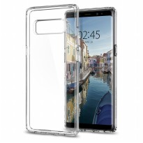 Case Samsung Galaxy Note 8 - Original Spigen SGP Ultra Hybrid - Clear