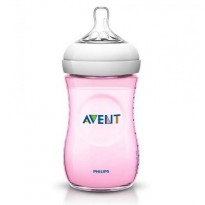 PHILIPS AVENT BABY NATURAL BOTTLE 260ML SINGLE PACK/ BOTOL SUSU DOT - WARNA