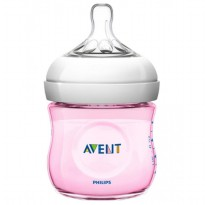 PHILIPS AVENT BABY NATURAL BOTTLE 125ML SINGLE PACK / BOTOL SUSU - WARNA