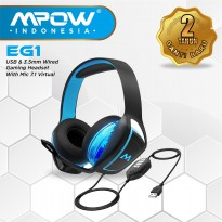Mpow EG1 Gaming Headset Powerful Driver Headphones MPBH200AD