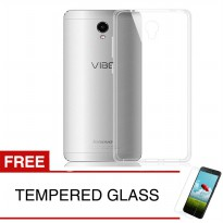 Crystal Case for Lenovo Vibe P1 Turbo - Clear Hardcase +  Gratis Tempered Glass