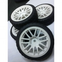 Ban Part Rc Car 1/10 Hex dan Velg Onroad