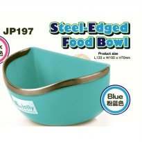 Tempat Makan / Jolly Steel Edged Food Bowl JP197