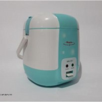 [Maspion] MRJ-051 Travel Cooker - Biru Muda