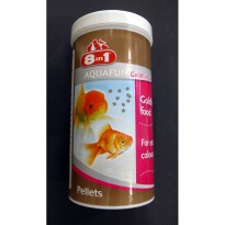Makanan Ikan / 8 in 1 Aquafun Goldfish Colour 280g  790013