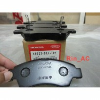 Kampas Rem / Brake Pad Depan Honda Jazz Gen 1, New City