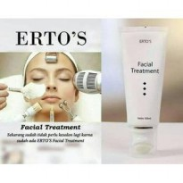 Ertos / Erto's Facial Treatment / 100ml / Original BPOM 100%