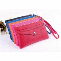Dompet wanita import queenie pouch wallet fashion premium korea