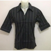 *DJ* 3/4 Sleeve Shirt (Material : Cotton)