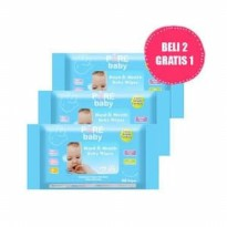 [HOT PROMO] Pure Baby Hand and Mouth Wipes Aloe Vera