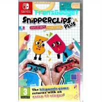 [Nintendo Switch] Snipperclips Plus: Cut it Out Together