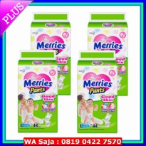 #Diaper MERRIES PANTS SUPER JUMBO M50/L44