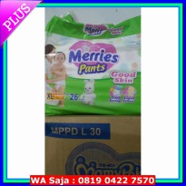 #Diaper Merries good skin Xl 26 pants