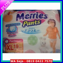 Popok Bayi - Merries Popok bayi Merries Pants Size XL Isi 19