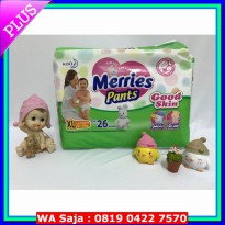 (Diaper) merries pants XL26
