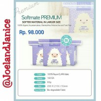 Softmate Premium Large Size IDR 98.000 (160sheets)