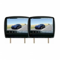 TV Mobil F8 F8-70HM - 7' Headrest Slim Monitor - Hitam