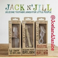 Jack n Jill Silicone Toothbrushes