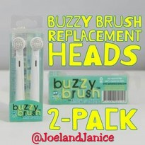 Jack n Jill Buzzy Brush Replacement Heads - 2 Pack