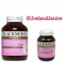 Blackmores Pregnancy & Breast-Feeding Gold 60capsule- New and Improved
