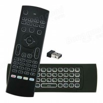 MX3 Gyroscope Air Mouse and Keyboard Wireless Dongle