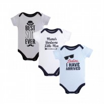 Hudson Baby 3-Pack Bodysuits / I Have Arrived