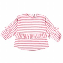 KIDS ICON - Blouse Anak Perempuan CURLY with Frill & Stripe Detail - LYB00400190