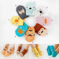 Kaos Kaki Bayi Animal 3D Karakter Baby Socks Cute Import Babymaniashop Kado Bayi