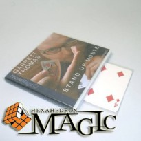 [globalbuy] Stand Up Monte (with Gimmick) by Garrett Thomas and Kozmomagic /close-up card /488637