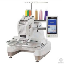 Mesin Bordir Komputer 6 Jarum Brother PR 655E Embroidery Machine Entrepreneur Business