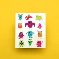 Potatoo Temporary Tattoo Set Pop Monster