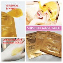 SHISEIDO GOLD MASK - SHISEIDO GOLD WHITENING 24K MASK
