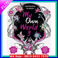 (Best Seller) Coloring Book for Ad*lt: My Own World 3 (Travel Size)