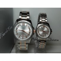 Alexandre Christie Couple 8473mdld Classic Silver Rose
