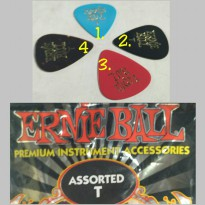 ernie ball pick gitar teen varian warna