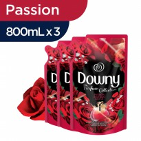 Paket Downy Passion isi 3 refill 800 ml
