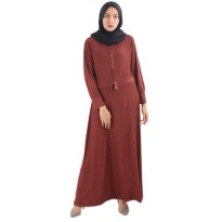 RE STOK gamis syarii muslim long dress musliam GDT 019 ZETTA JUMBO MURAH